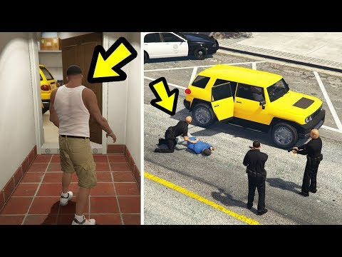 GTA 5 - What if Franklin takes Michael's car to the Police?