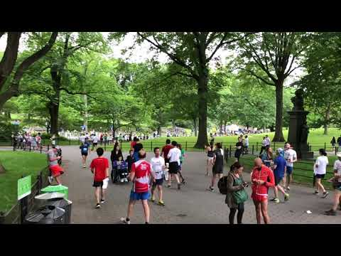 Italy Run by Ferrero (5M) in  Central Park, New York (6-3-18)