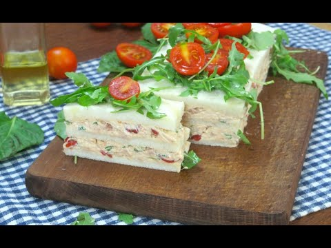 Tuna and tomato cake: a great recipe for an easy and tasty snack!