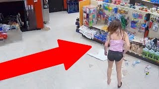 TOP 10 FUNNIEST THEFTS CAUGHT ON CAMERA