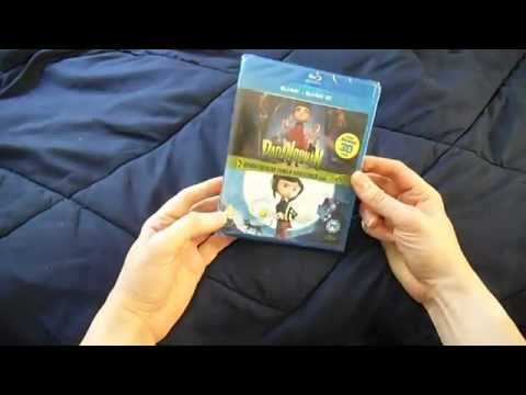 ParaNorman+Coraline 3D-HD Combo Unboxing