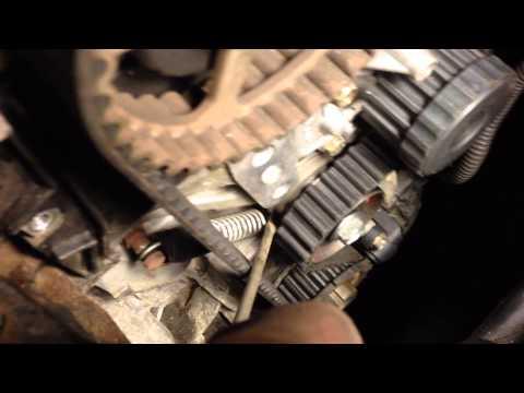 02 Honda Civic 1.7 timing belt tensioner