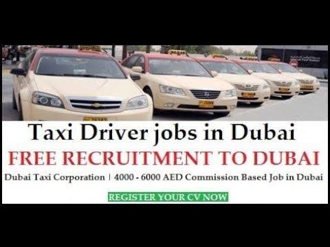 Jobs in Dubai - Dubai Taxi Driver Jobs / Free Recruitment / Dubai Latest Job 2018