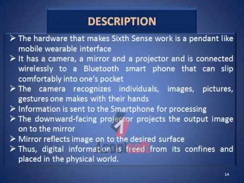 SIXTH SENSE TECHNOLOGY.avi