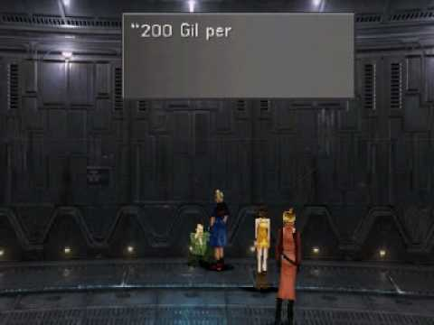 FFVIII Rosetta Stone Farming - Method A