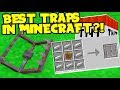 THESE TRAPS CAN STOP A HACKER - MINECRAFT TOP 5 MODDED TRAPS