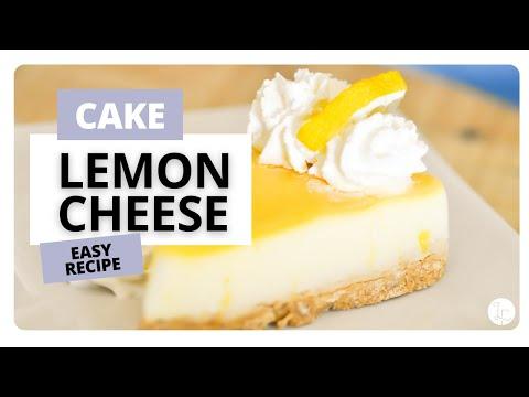 1 Minute Lemon Cheesecake Recipe