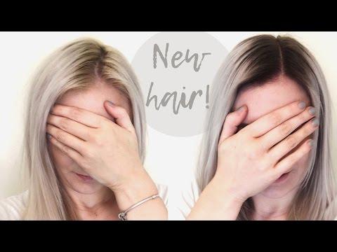 PLATINUM BLONDE OMBRÉ HAIR   Blonde Amy