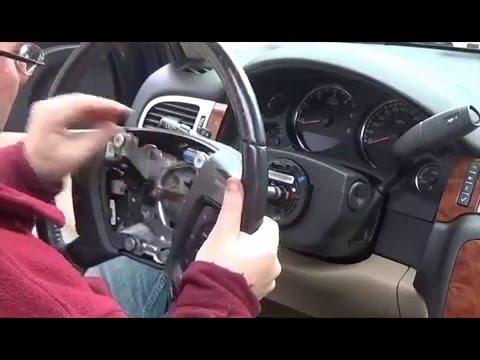 DIY Replacing airbag and steering wheel on Chevy Suburban