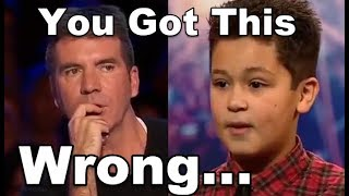 Simon Stops Little Boy and Asks Him a Second Song, Watch What Happens Next!