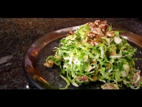 How to Make a Brussels Sprout Salad that Doesn't Stink