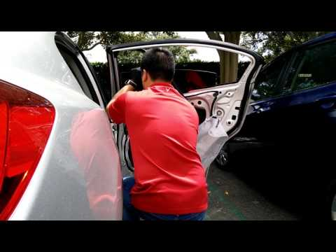 2012-2015 9th Gen Generation Honda Civic Rear Door Window Glass Replacement
