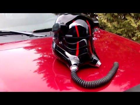SGB 1:1 First Order TFA Elite Tie Pilot Helmet