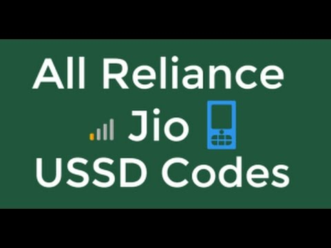 Reliance Jio USSD Codes To Check Remaining Balance & Data I Tech Instructor