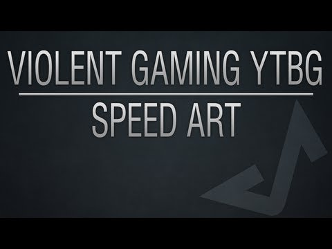 Violent Gaming YouTube Background - Speed Art
