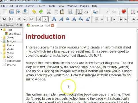 Sigil eBooks Part 3: Adding images