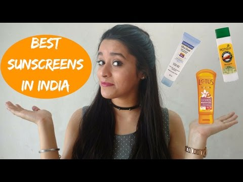 Best Sunscreens in India | How to Apply and Choose a Sunscreen | Just another girl