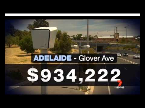 Adelaide Australia - Speed Cameras Milions in Fines - Most Below 10km/h