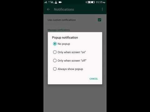How to Set Custom Ringtone on Whatsapp