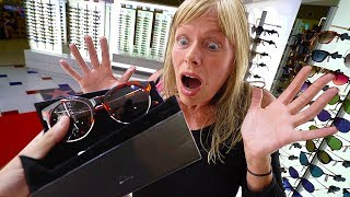 SURPRISING MY MOM WITH $2000 SUNGLASSES!! (DREAM)