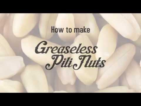 Greaseless Pili Nuts