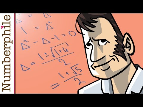 Golden Proof - Numberphile