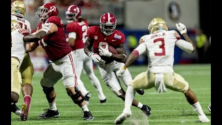 Bo Scarbrough drops 15 pounds, expands game as Alabama RB