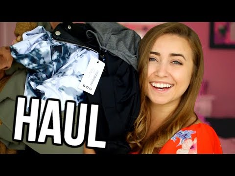 HUGE FALL TRY ON HAUL! | Back to School 2017
