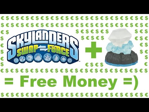 Skylanders Swap Force  - Free Money Cheat/Glitch
