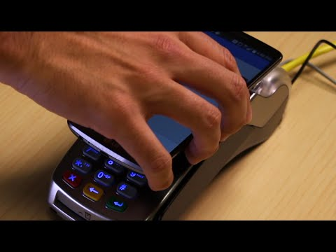Gravity Payments | VX520 How-to: Apple Pay, Google Wallet, Contactless (NFC) Sale