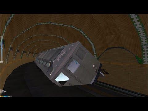 OpenBVE HD: NYC Subway IRT World's Fair Lo-V Passing Through City Hall Loop (6/4/18)