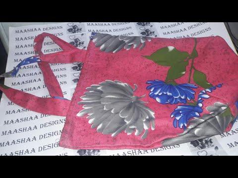 how to make shoulder bag in cloth