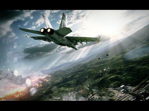 Battlefield 3: F/A-18 Super Hornet Flight & Combat demonstration