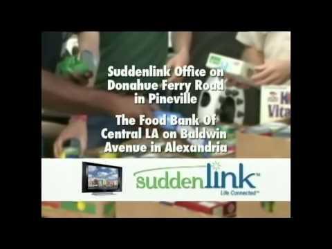 Suddenlink Food Drive 2014