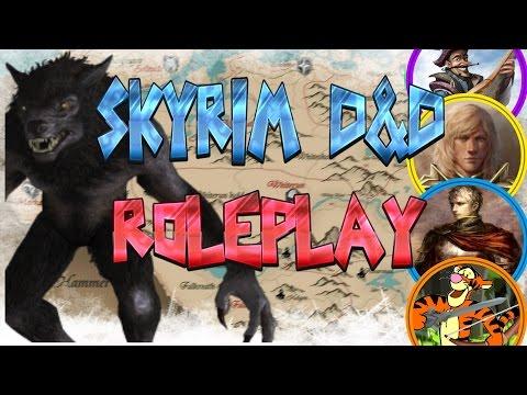 SKYRIM D&D ROLEPLAY #9 - Werewolves? (LIVE RP)