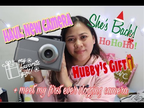 Haul: MY NEW CAMERA Canon G7X Mark II BEST VLOGGING CAMERA 2017 + Sony RX100 + I'm Back!