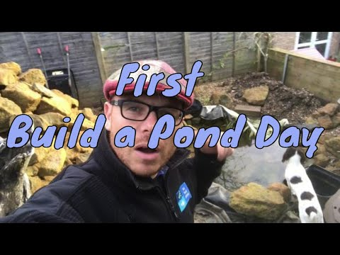 Pond Construction Jobs - UK - Join us for our first build a pond day.