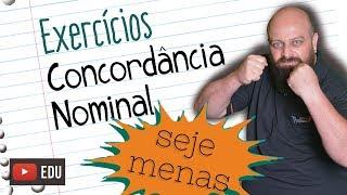 Exercícios de Concordância Nominal [Prof Noslen]