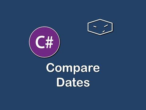compare dates in c#