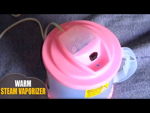 how to use ultimate Warm Steam Vaporizer machine for cough and cold home remedies By Latha Channel