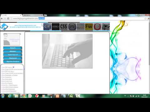 PHP 4.ders(php kod çalıştırma ve echo)