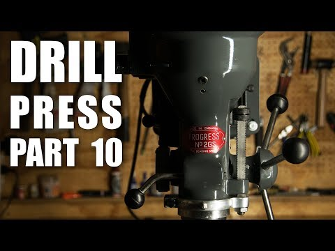 Drill Press Restoration Part 10 - Final Assembly