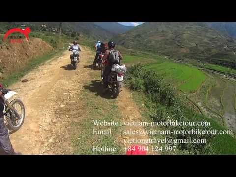 Vietnam Northern Motorbike Tours on the Off-beaten Tracks