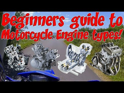 Beginners guide to motorcycle engine types!