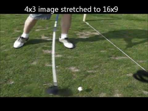 Golf Shaft Flex Distortion