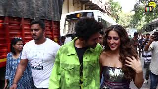 Sara Ali Khan Lovey-Dovey Behavior With Bf Kartik Aryan On DancePlus5 Episode