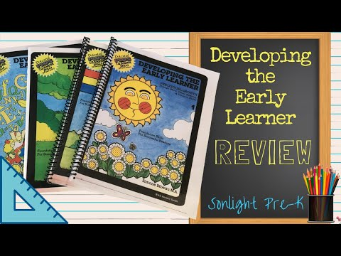 Developing the Early Learner Workbooks Review Flip Through - Sonlight Pre-K - Are They Worth It?