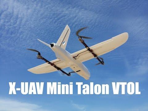 X-UAV Mini Talon VTOL Quadplane