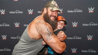 Braun Strowman grants Chad's wish before Raw