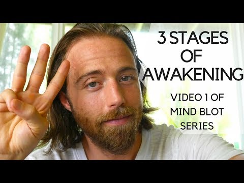 3 Stages of Awakening   3 Levels of Consciousness   Mind Blot Series Video 1